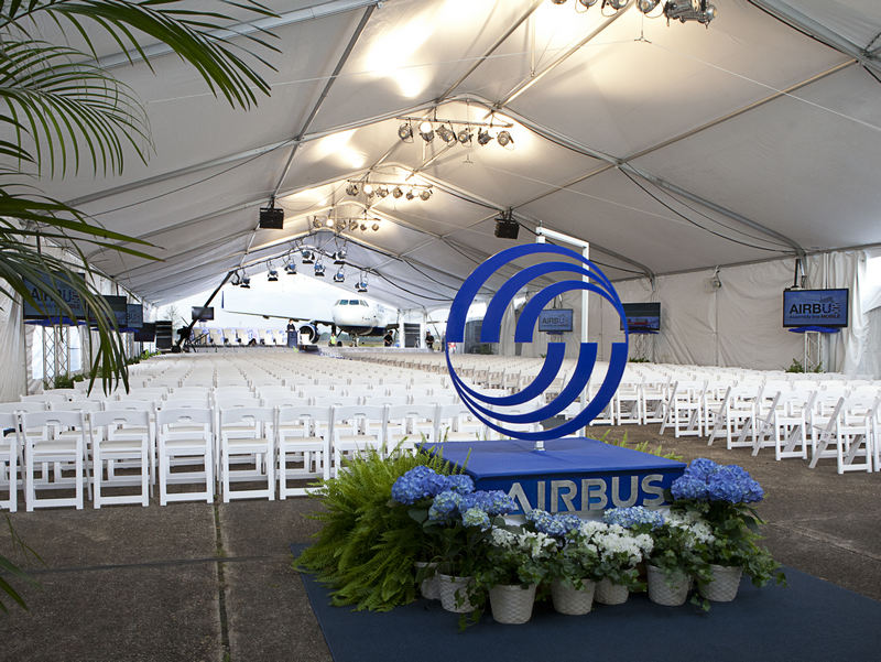 AirBus Ground Breaking 2013