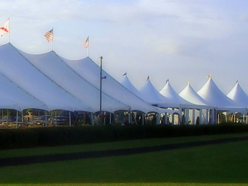 Polo at the Point 2012 Event Tents
