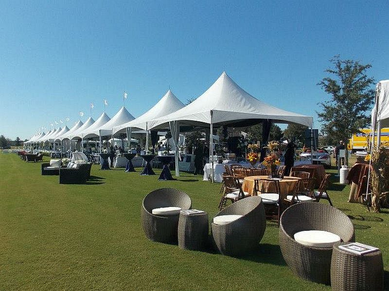 Polo at the Point Event Tents 2012