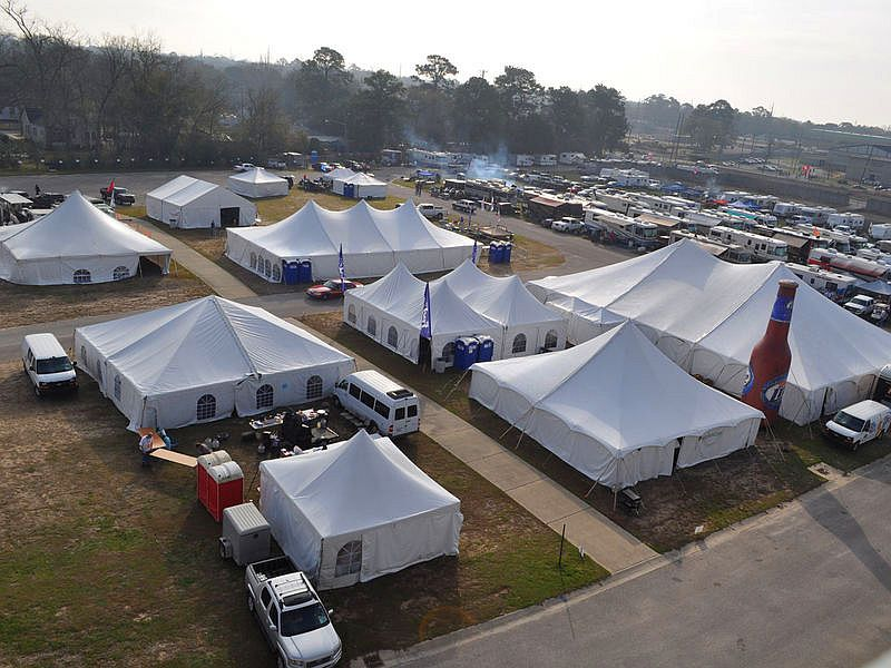 Senior Bowl 2013 Tents