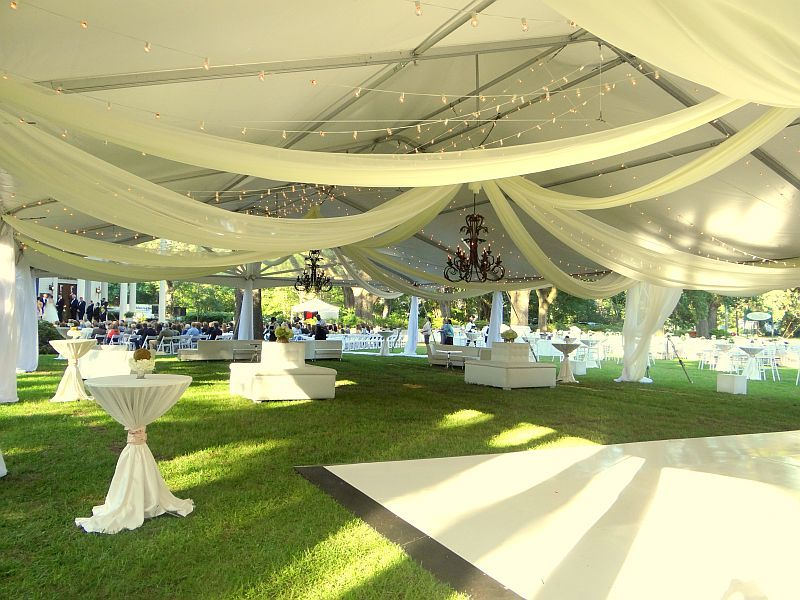 Wedding with Speciality Gabled Tent - view 1