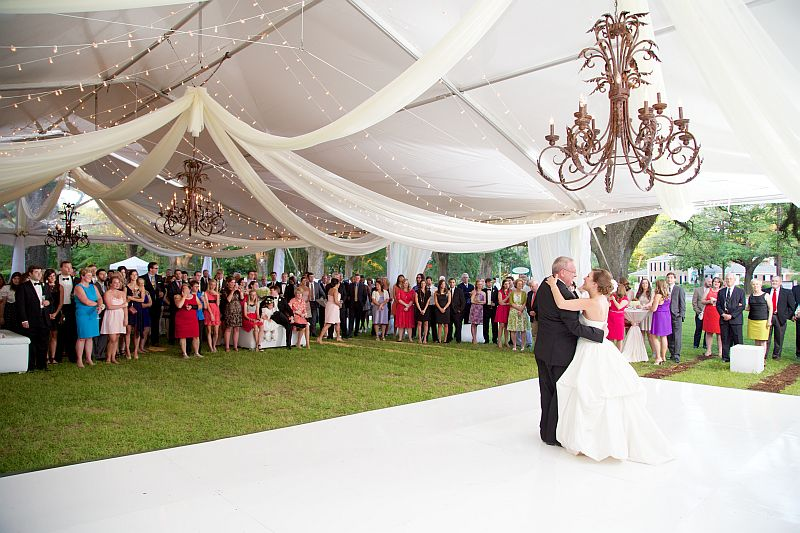 Wedding with Speciality Gabled Tent - view 2