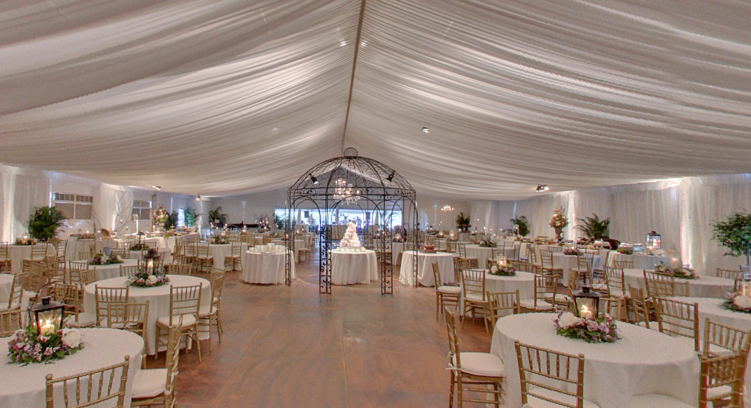 Wedding with Structured Tent - view 1