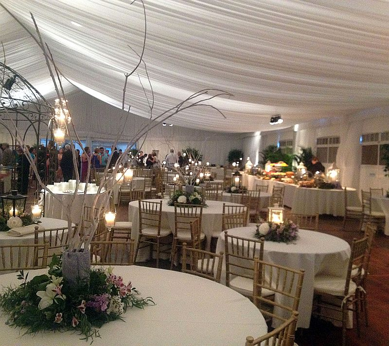 Wedding with Structured Tent - view 3