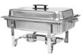 Rental store for CHAFER 8QT RECTANGULAR BASIC STAINLESS in Mobile AL