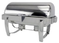 Rental store for CHAFER 8QT ROLLTOP RECTANGULAR STAINLESS in Mobile AL