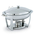Rental store for CHAFER 6QT OBLONG SILVER SERPENTINE in Mobile AL