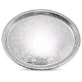 Rental store for TRAY 13X10  OVAL - SILVER in Mobile AL