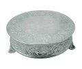 Rental store for CAKE STAND 18  DIA 6 HT.SILVER in Mobile AL