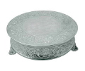 Rental store for CAKE STAND ROUND 22  DIA SILVER in Mobile AL