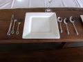Rental store for SQUARE WHITE 10  DINNER PLATE 15 RACK in Mobile AL