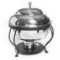 Rental store for HAMMERED CHAFER 8QT ROUND in Mobile AL