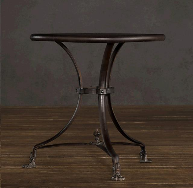 Where to find END TABLE WROUGHT IRON 18  ROUND in Mobile