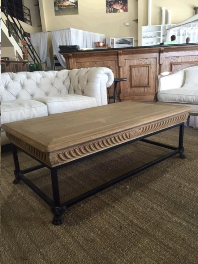 Where to find COFFEE TABLE WROUGHT IRON AND WOOD in Mobile
