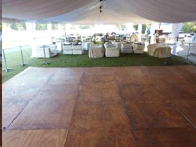Where To Rent DANCE FLOOR STAINED WOOD 4X8 In Mobile Alabama, Prichard,  Daphne,