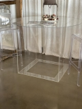 Rental store for CAKE TABLE, CLEAR ACRYLIC in Mobile AL