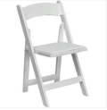 Rental store for CHAIR, RESIN WHT W PAD del only in Mobile AL