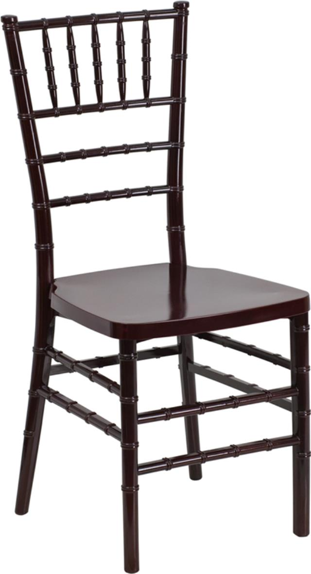 Where to find CHAIR, CHIAVARI RESIN MAHOGANY in Mobile