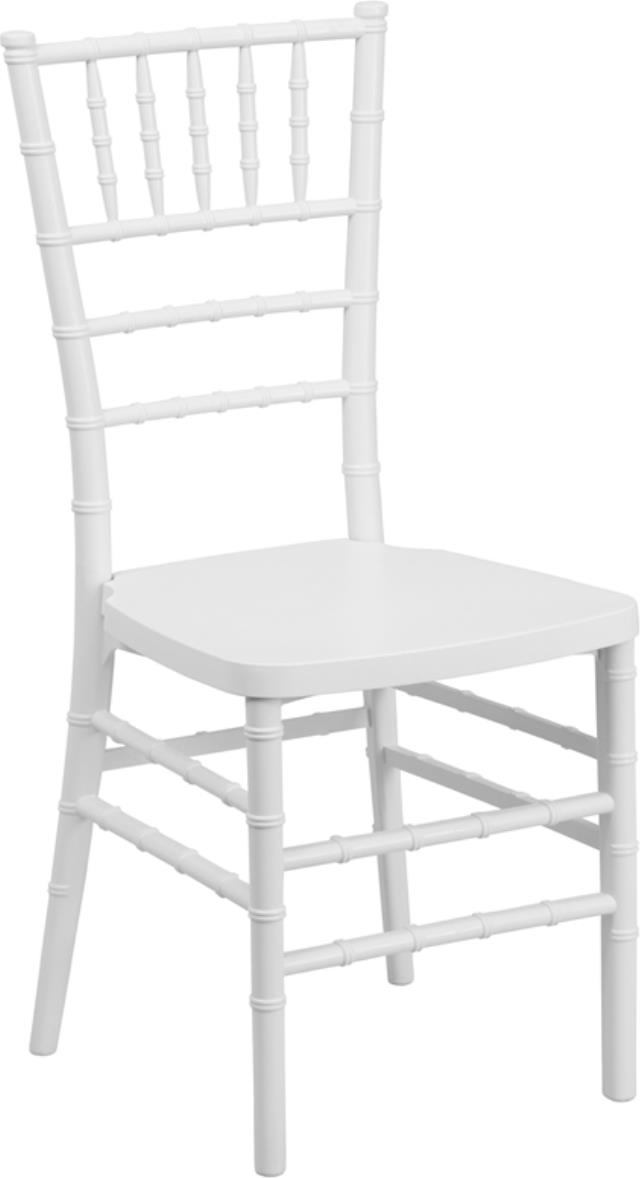 Where to find CHAIR, CHIAVARI RESIN WHITE in Mobile
