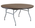 Rental store for TABLE, 60  RD RESIN BROWN-del only in Mobile AL